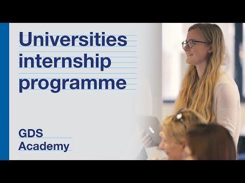 GDS Academy Universities Internship Programme 2017