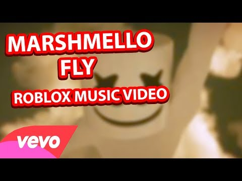 Marshmello- FLY Official Roblox Music Video