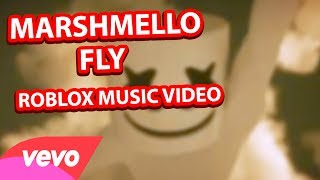 Marshmello  - FLY Official Roblox Music Video