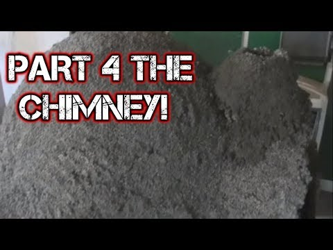 DIY Wood Fire Pizza Oven Part 4 The Chimney