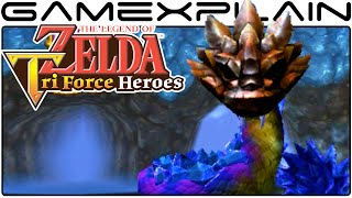 Blizzagia BOSS FIGHT in Zelda: Tri Force Heroes - (60fps Direct Feed)