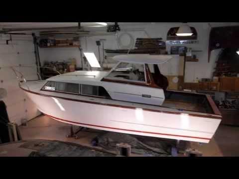 67 Owens Cruiser Restoration Slideshow All Boat No Talk