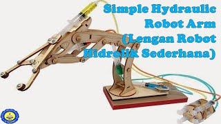 Lengan Robot Hidrolik