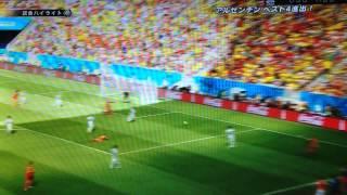 【ハイライト】W杯 準々決勝 アルゼンチンvsベルギー