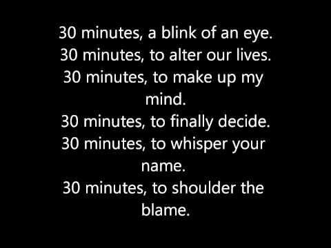 [Lyrics] 30 Minutes - t.A.T.u.