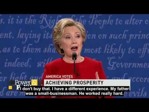 Donal Trump vs Hillary Clinton Engsub
