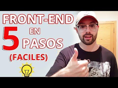 FRONT-END EN 5 PASOS - ¿Que aprender y por donde empezar para ser Desarrollador Web Frontend? *2019*