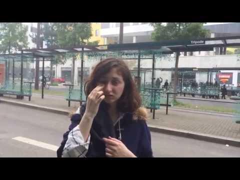 Manif interdite du 26 mai à Nantes : jeune femme blessée au visage