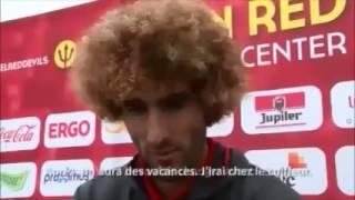 Diable Rouge: Le pourquoi Fellaini  c'est teint en blond le 13/06 - Euro 2016 HD