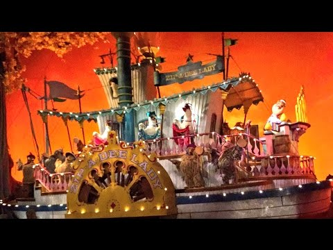 Splash Mountain POV No Animation Working! Magic Kingdom Walt Disney World