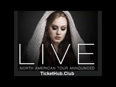 Adele North American Tour Tickets