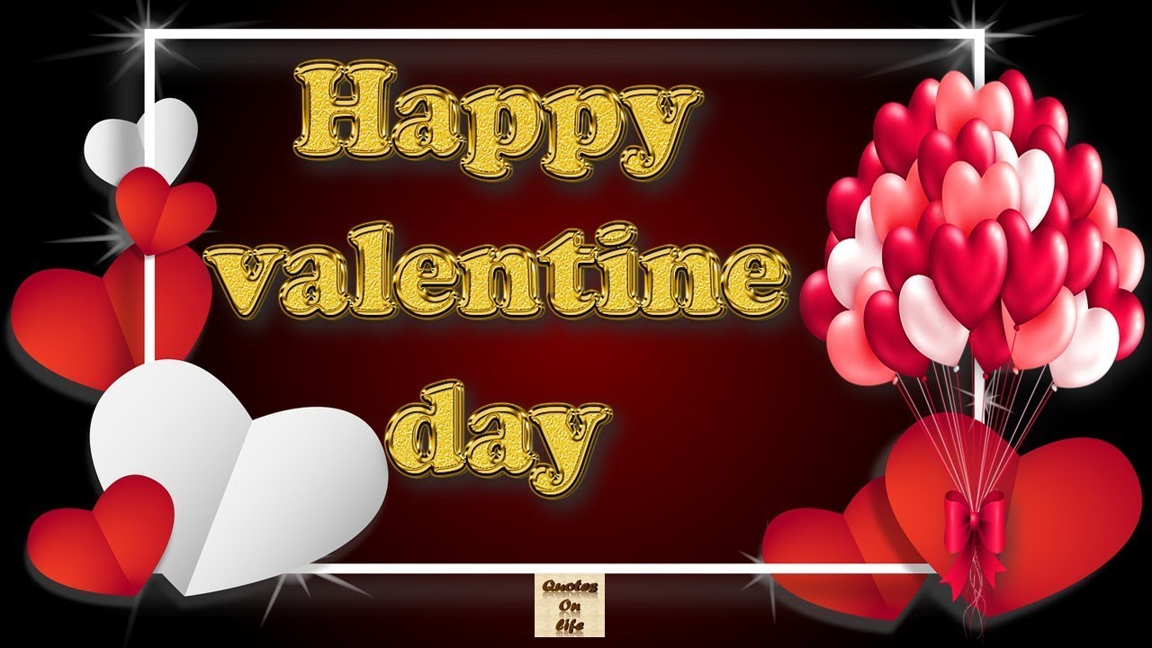 Happy valentine day wishes animated ecard greetings whatsapp video happy valentine day wishes animated ecard greetings whatsapp video with quotes and messages m4hsunfo