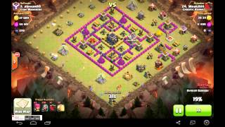 Clash of Clans- Chaotic attack by a Chaotic Rider!!!
