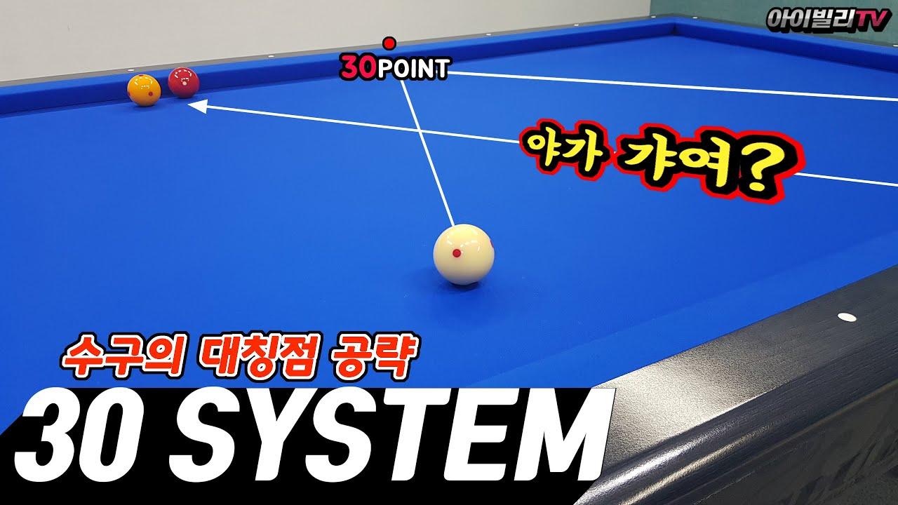 [시스템리뷰]머리에 쏙쏙 들어오는 당구 30시스템의 핵심 정리(1)(아빌404회)