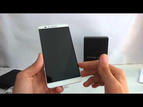 Huawei Ascend Mate 7 kicsomagoló videó
