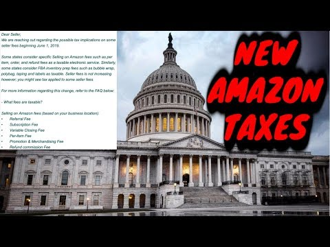 New Amazon Taxes !!  Sellers in BIG TROUBLE
