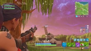 Craziest Golf Shot From Enemies Sky Base!!! Fornite Battle Royal