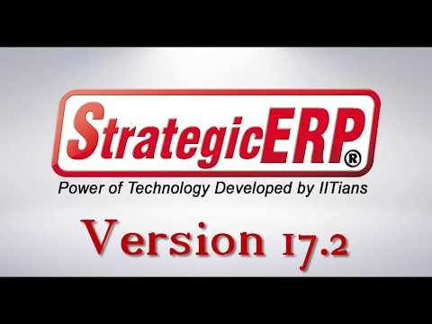User Interface of StrategicERP Newly Launch Version 17.2