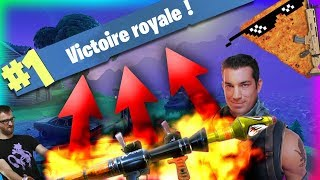 FORTNITE BATTLE ROYALE - MY DEBUTS, WHAT TO PAS TO THE 2 IEME GAME VA YOU MENETON!!
