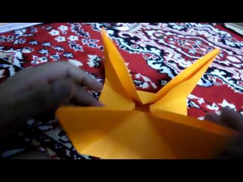 How to make paper UFO/AEROPLANE . Easy as ABC.