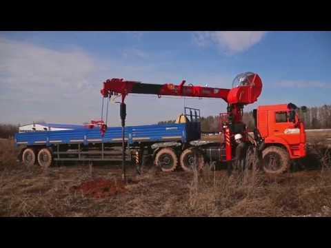Седельный тягач КамАЗ 43118 с БКУ Taurus 086A