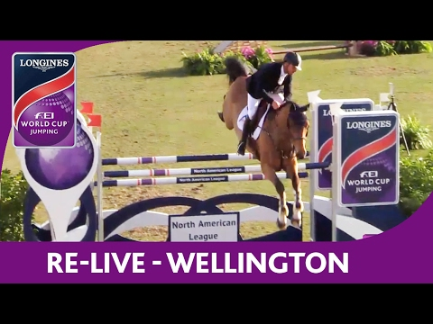 Re-Live | Wellington | Longines FEI World Cup™ Jumping 2016/17 NAL | Sovaro Qualifier