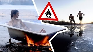 Let's pretend it's SUMMER | Hot Tub über'm Lagerfeuer DIY!