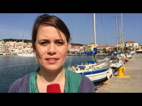 """Bericht von Lesbos: """"Eine absurde Situation"""""""