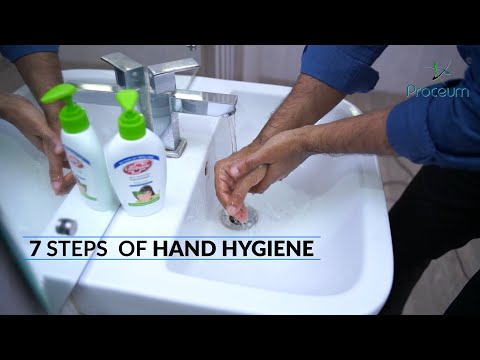 Proper Methods of Hand Washing - What are the 7 Steps of Hand Washing to prevent COVID-19?