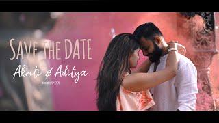 Save the date | Akriti & Aditya | 30 Nov '20