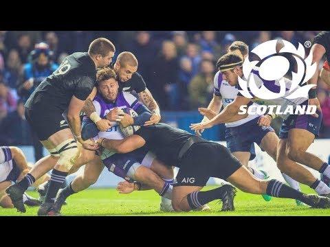 Scotland V New Zealand | Highlights