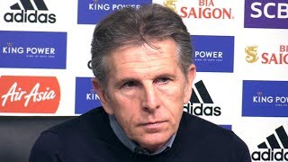 Claude Puel Full Pre-Match Press Conference - Leicester v Burnley - Premier League