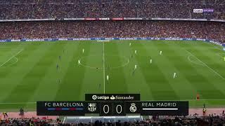 Fc barcelona vs real madrid 2-2 bein sport 2017-2018