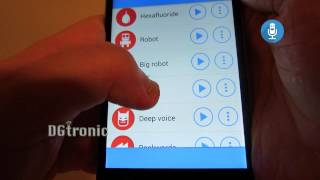 Android App Review -  Voice Changer with Effects