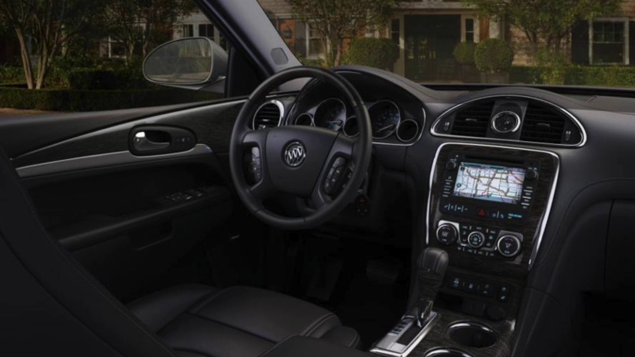 Buick enclave 2013 interior for Buick enclave interior pictures