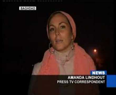 Violence in Iraq Rages as President Bush hails the surge - Amanda Lindhout & Afshin Rattansi