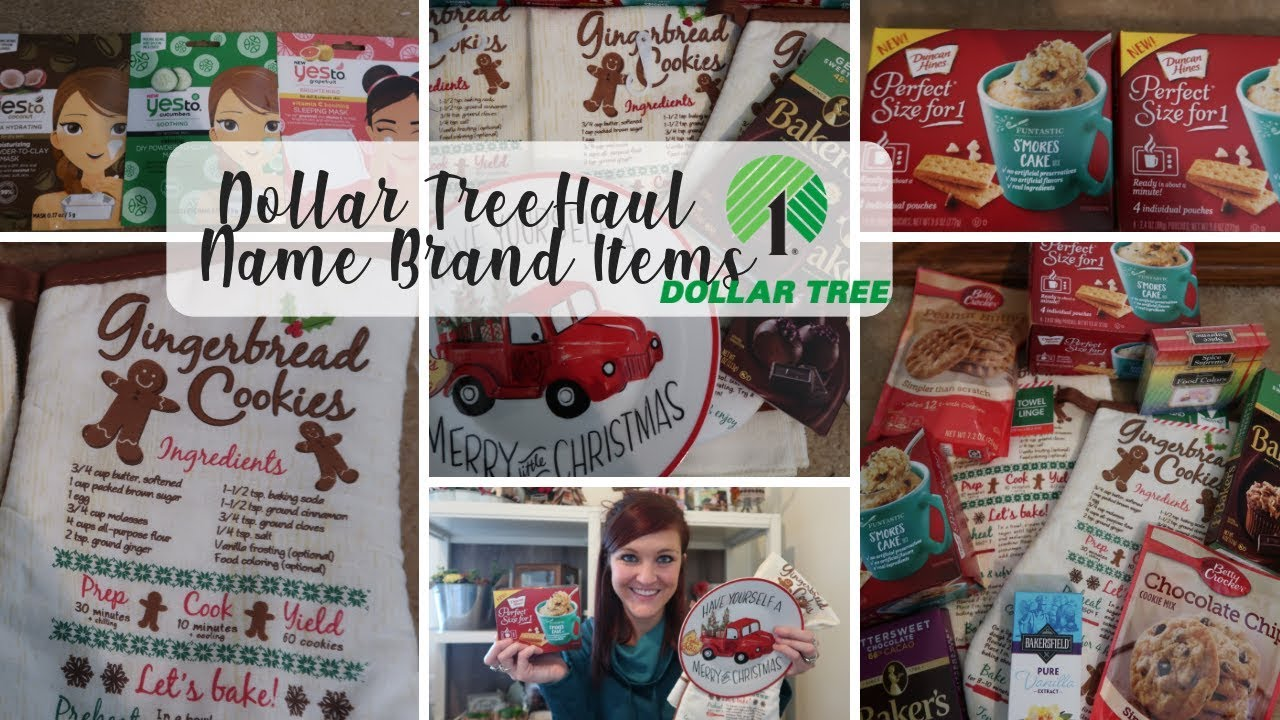 Dollar Tree Haul | New Finds at the Dollar Tree | Name Brand ...