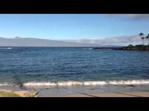 Maui kapalua beach! Hello from hawaii!