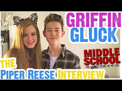 Griffin Gluck Talks Middle School Movie, Kisses Isabela Moner, Breaks Rules & Raps