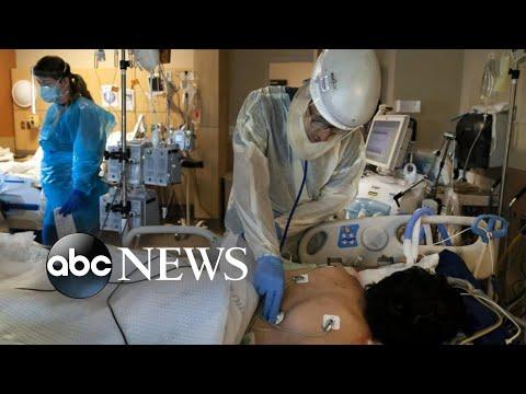 Last 24 hours pandemic's deadliest day …