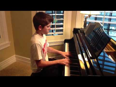Adele Someone Like You Piano cover by Cole Stanfield