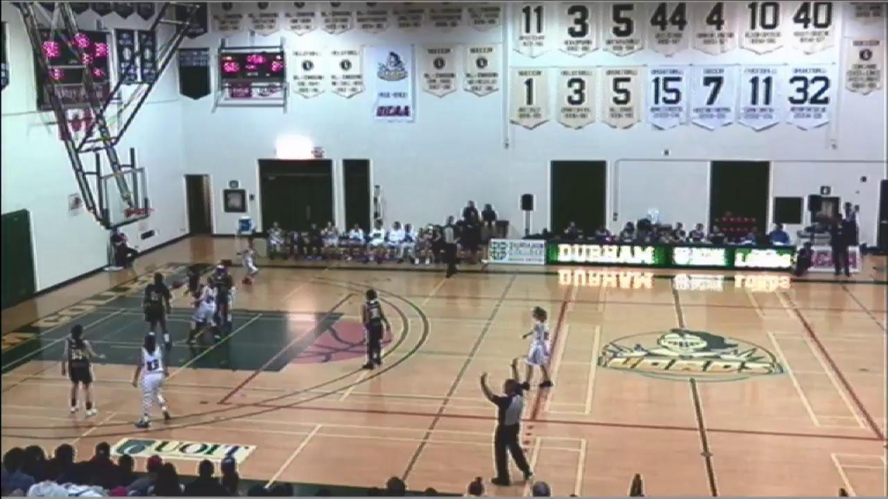 Women's Basketball - Centennial Colts vs. Durham Lords ...