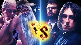 HARRY POTTER vs SENHOR DOS ANÉIS (ft. Castanhari & Polado) - BATALHA DE RAP!