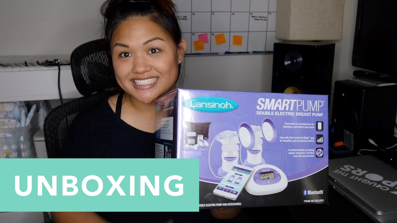 Unboxing The Lansinoh Smartpump Double Electric Breast Pump Youtube
