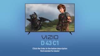 "VIZIO D43-C1 D-Series 43"" Class Full‑Array LED TV // Full Specs Review #VIZIO"