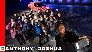 Jaguar I-PACE & Boxing Champion Anthony Joshua Light up Christmas for Children