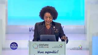 Speech of outgoing general secretary Michaëlle Jean