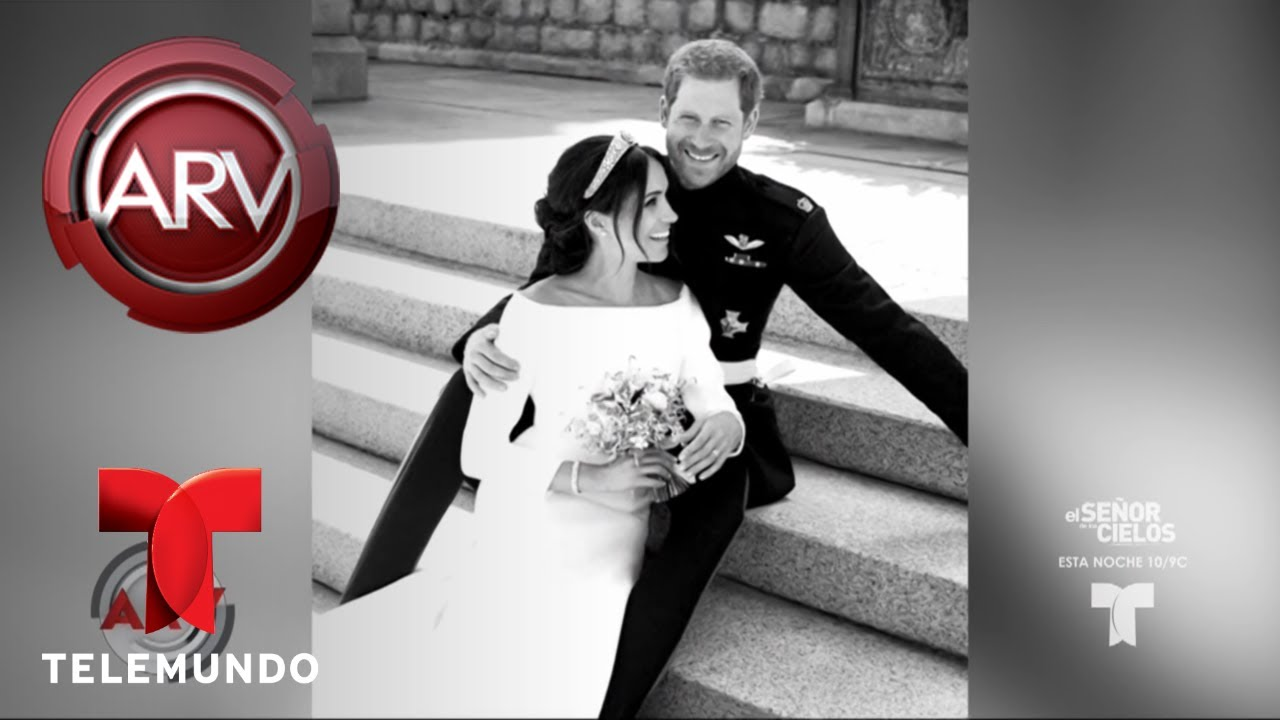las-fotos-oficiales-de-la-boda-del-prncipe-harry-y-meghan-al-rojo-vivo-telemundo