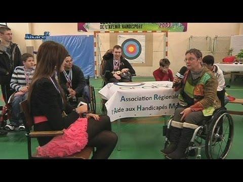 arahm une aide aux enfants handicap s alsace youtube. Black Bedroom Furniture Sets. Home Design Ideas