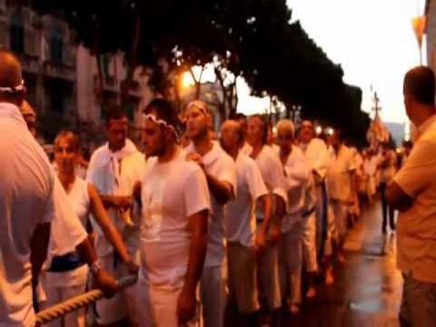 PROCESSIONE DELLA VARA Messina 2012 - YouTube